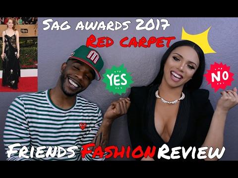 SAG Awards 2017 Red Carpet Best & Worst Dressed - Friends Fashion Review