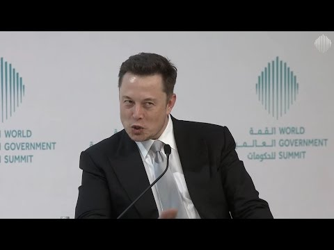 Elon Musk answers Where are the Aliens? in Dubai at the World Gov Summit (2017-02-15)
