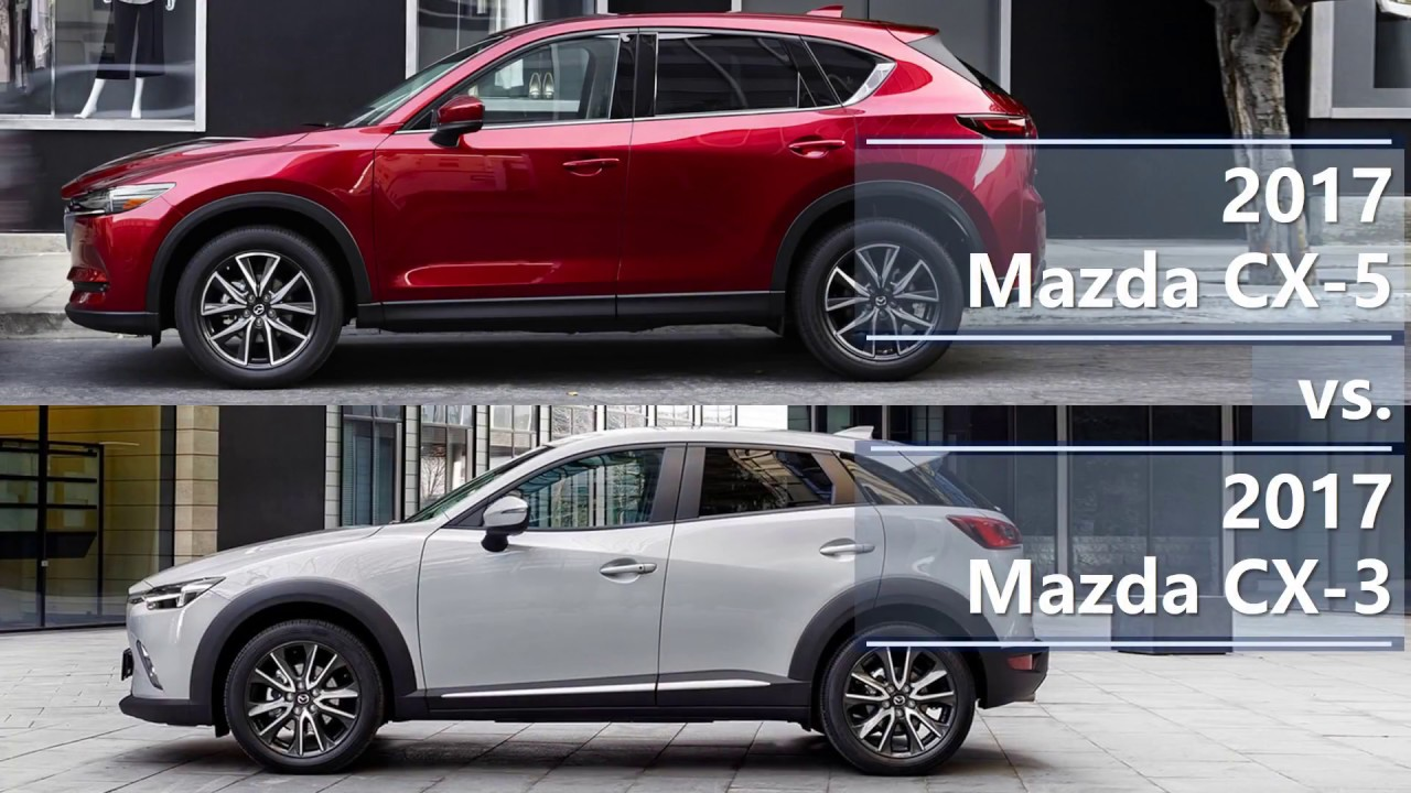 2017 Mazda Cx 5 Vs 3 Technical Comparison
