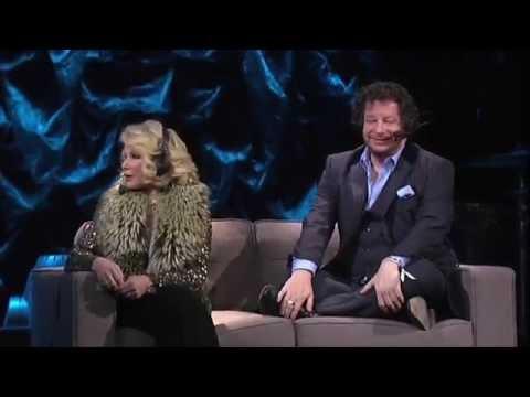 Howard Stern's Birthday Bash 2014 - Jeffrey Ross and Joan Rivers