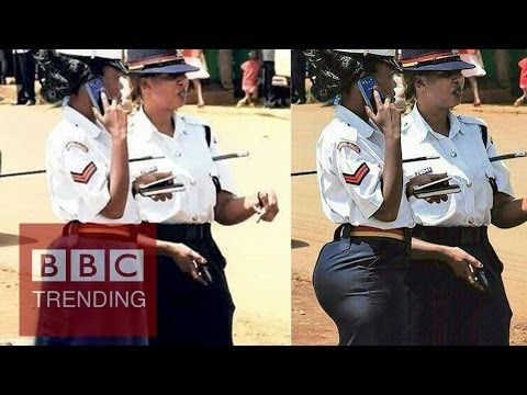 Too sexy for Kenya's police? thumbnail