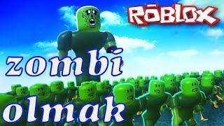 Zombi Olmak! | Zombie Outbreak | Roblox Türkçe
