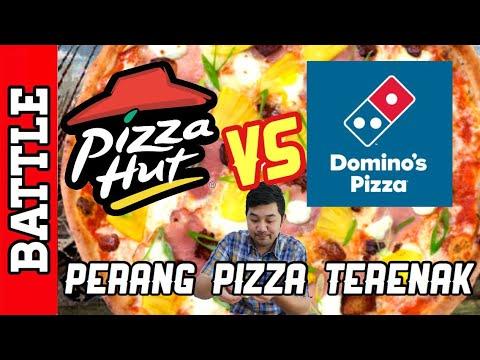 PERANG PIZZA TERENAK! PIZZA HUT VS DOMINO PIZZA