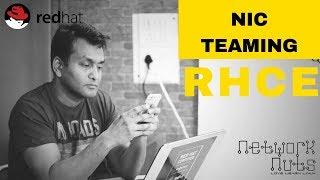 RHCE Training - Understanding NIC Teaming thumbnail