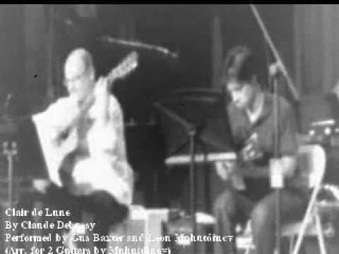 clair de lune classical guitar pdf