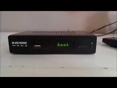 How to Set Up a TV Box? HD Antenna ATSC TV Converter Box HDMI Output Review