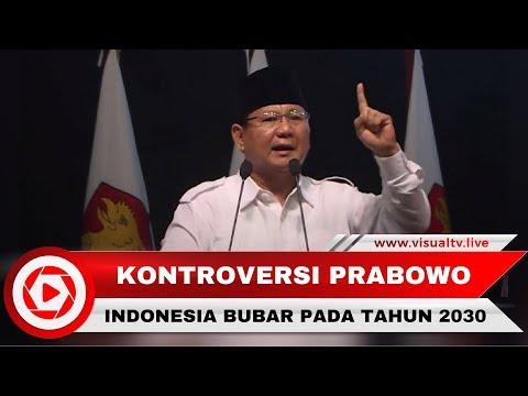 Pidato Prabowo Ramal  Indonesia Bubar 2030 Ternyata Bersumber dari Buku Ini