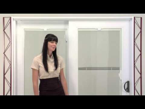 Novatech Patio doors Raise/Lower mini-blinds