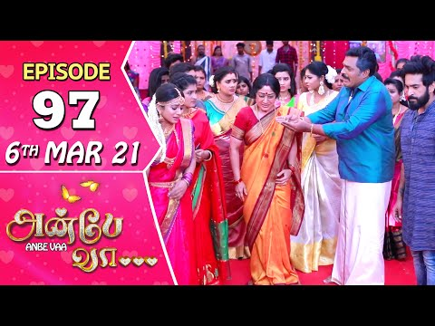 Anbe Vaa Serial | Episode 97 | 6th Mar 2021 | Virat | Delna Davis | Saregama TV Shows