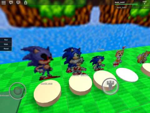 Roblox sonic Lost World map and angry birds map