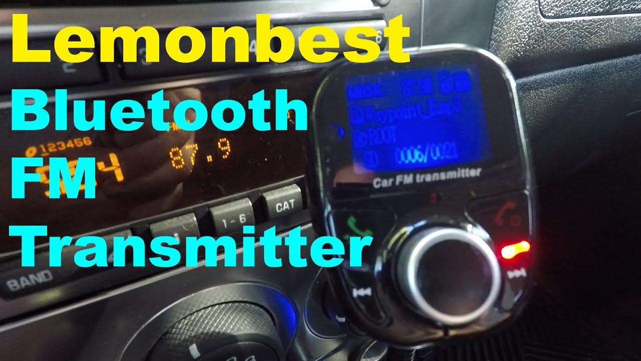 Bluetooth fm transmitter test