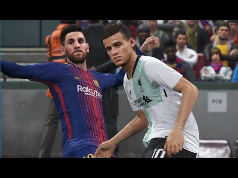 [PS4] Coutinho vs FC Barcelona - Gameplay PES 2018 Demo Superstar