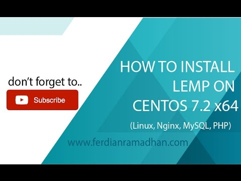 How To Install Linux, Nginx, MySQL, PHP (LEMP) Stack On CentOS 7.2