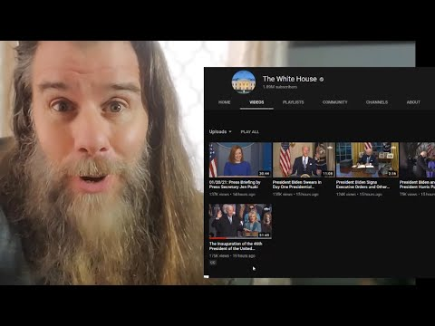 ��Look What They Did to The White House YouTube Channel After the Inauguration