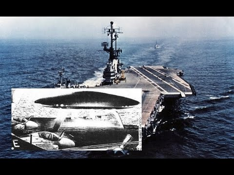 US Navy Photo of Alien UFO landing on Aircraft Carrier is