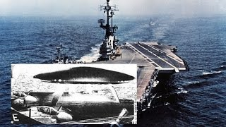 US Navy Photo of Alien UFO landing on Aircraft Carrier is Genuine thumbnail