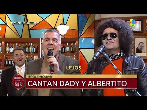Andrés Calamaro y Dady Brieva le cantaron a Sampaoli en Polémica