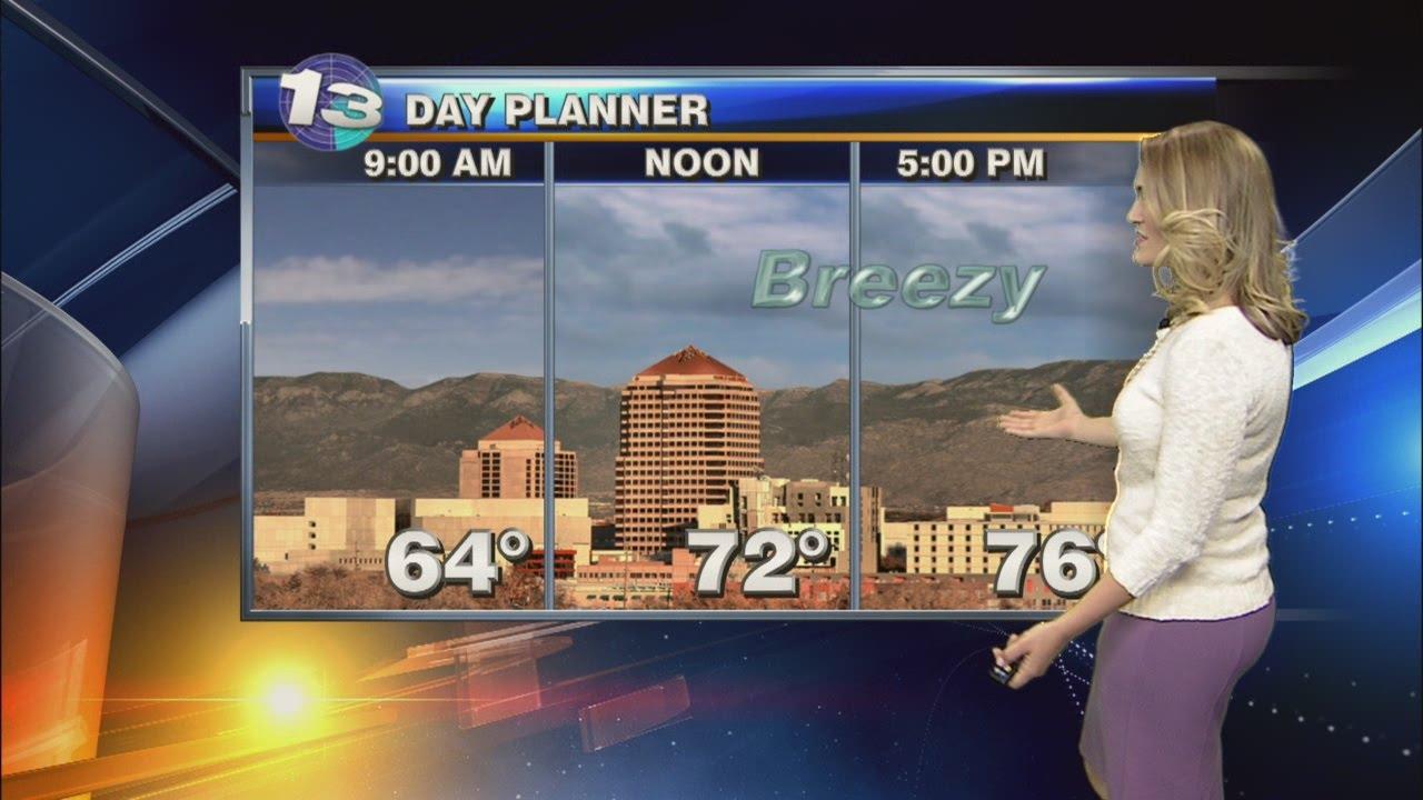 Kassandra's Friday Morning Weather