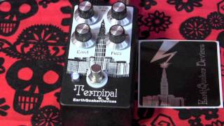 EarthQuaker Devices TERMINAL FUZZ guitar pedal demo with SG & Blues Jr