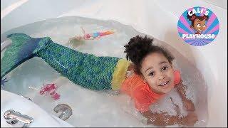 Mermaid in Real Life | Cali's Playhouse