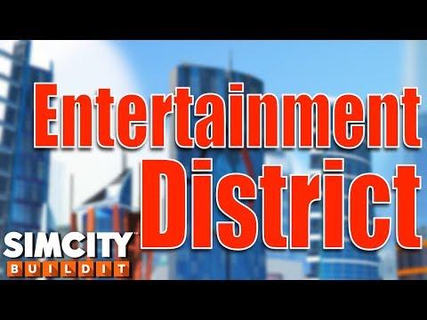 Sim City BuiIdit   My Entertainment District