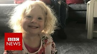The toddler who 'always feels hungry'   BBC News