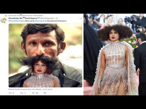 People Making FUN of Priyanka Chopra's MET Gala 2019 Costume on Internet