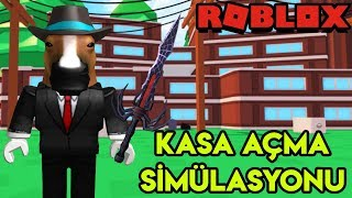 💰 Kasa Açma Simülasyonu 💰 | Safe Cracking Simulator | Roblox Türkçe