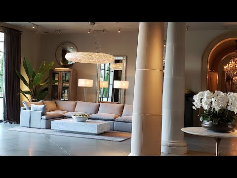 Luxury Home Décor Store Tour/Restoration Hardware