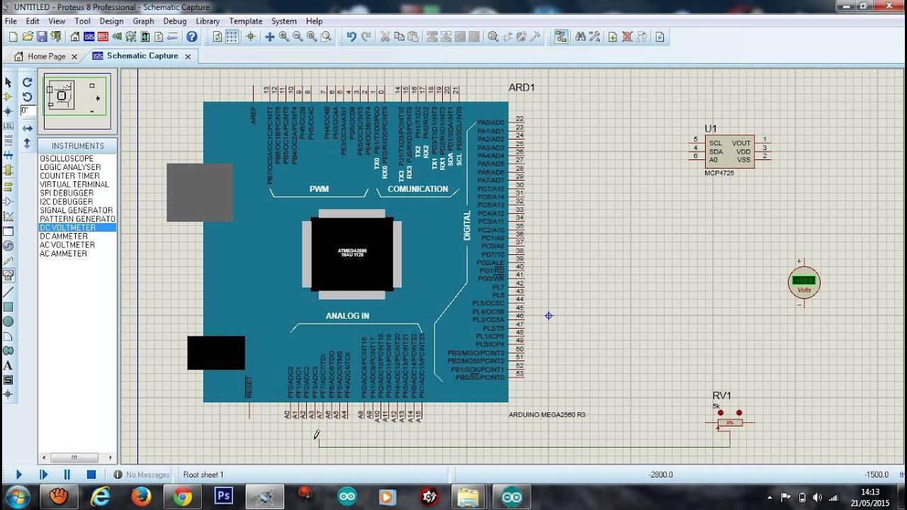 Arduino cna mcp sur isis proteus youtube