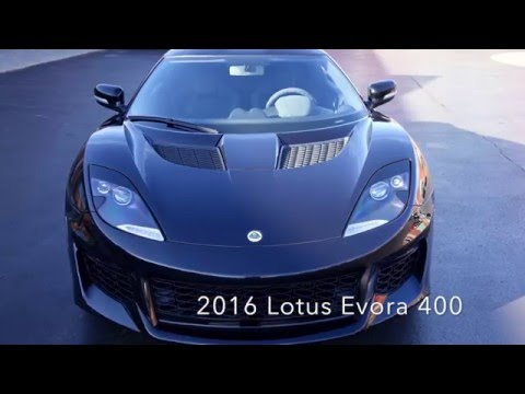 2016 Lotus Evora 400 Review | Sons of Speed