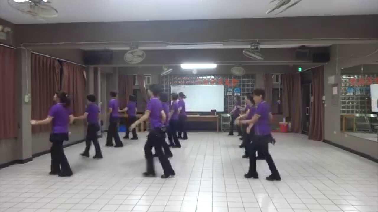 No sunset  日不落(含分解數拍) : 基礎級排舞