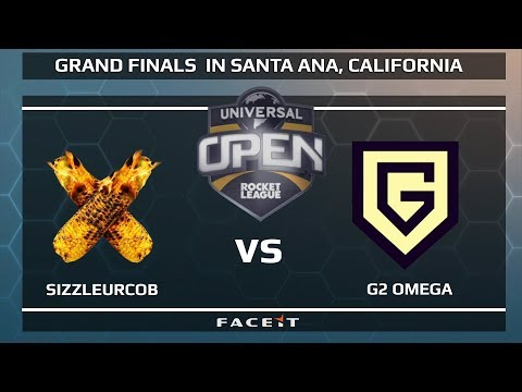SizzleUrCob vs G2 Omega - WB R1 - Universal Open Rocket League Grand Finals