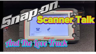 Snap On Apollo D8 and Zeus Scanner Talk and The Love Truck