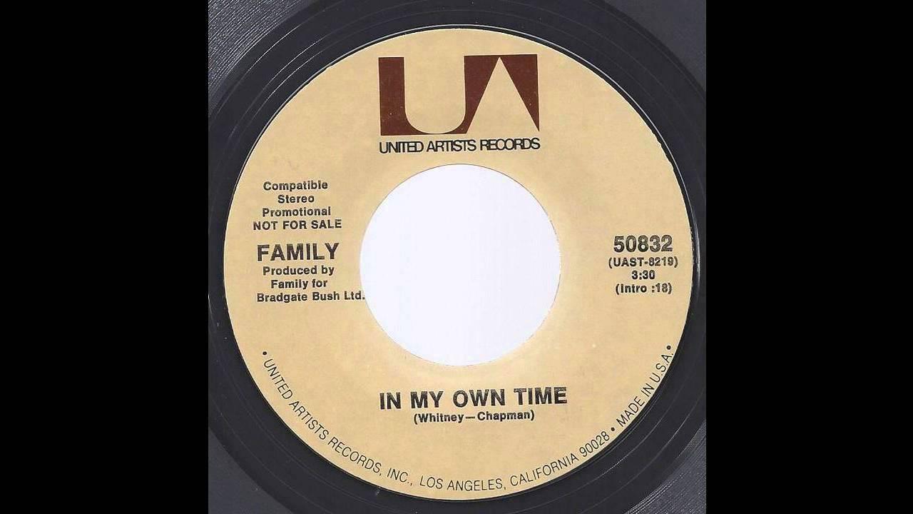 Family Roger Chapman In My Own Time 71 Folk Rock Youtube