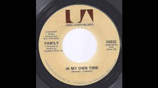 Family (Roger Chapman) - In My Own Time -