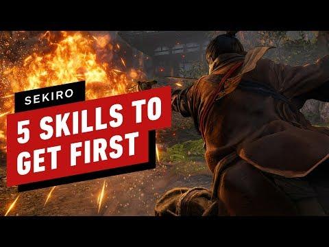 5 Skills To Get First In Sekiro: Shadows Die Twice