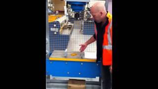 Steelmaster Industrial Hydraulic Workshop Press Model: Sm-mdy90 - Sliding Head