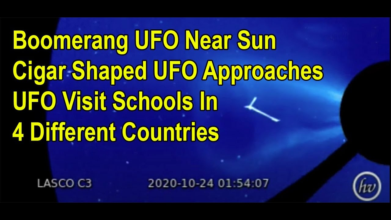 More UFO Sightings - UFO Found In Google Sky - UFOs Visits School Yards In 4 Different Countries