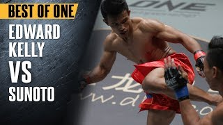 ONE: Best Fights | Edward Kelly vs. Sunoto | The Filipino Hero Scored A Superb Win