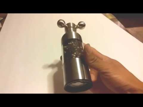 Dante Stainless Steel Pepper And Salt Mill Review