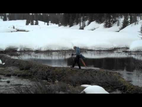 Nordic Spring Skiing, Yellowstone '11