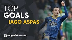 TOP 25 GOALS Iago Aspas en LaLiga Santander