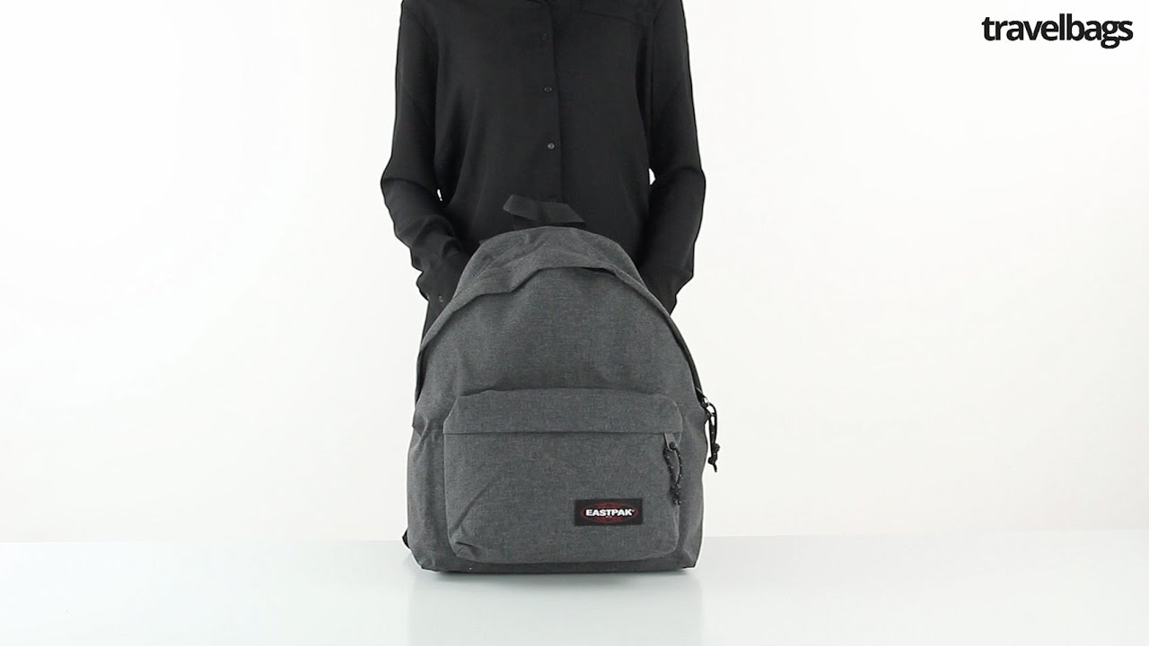 9373072493f Eastpak Padded Pak'r Rugzak black | Travelbags.nl