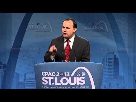 CPAC St. Louis - U.S. Senator Mike Lee (R-UT)