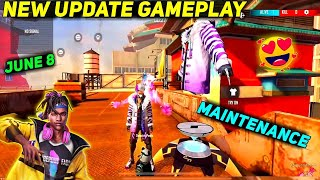 FREE FIRE MAINTENANCE TODAY UPDATE   8 JUNE 2021 PATCH UPDATE COMPLETE DETAILS & GAMEPLAY IN TAMIL