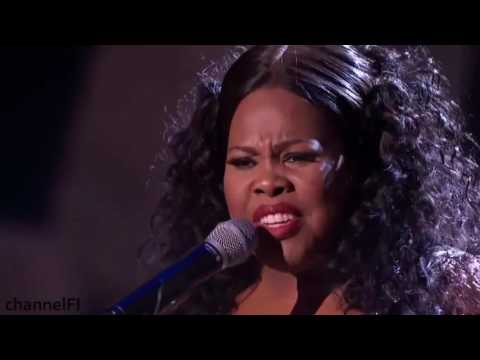 Amber Riley Live at The Royal Variety Performance