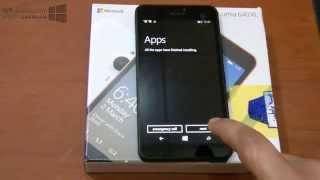 تشغيل واستعراض هاتف مايكروسوفت لوميا 640 إكس إل Fast preview for Lumia 640 XL