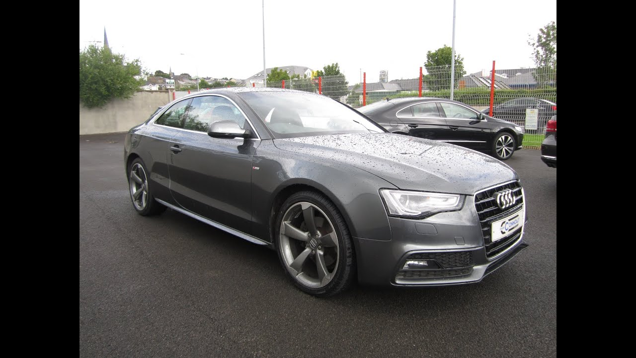 Review 2012 Audi A5 S Line Coupe Youtube