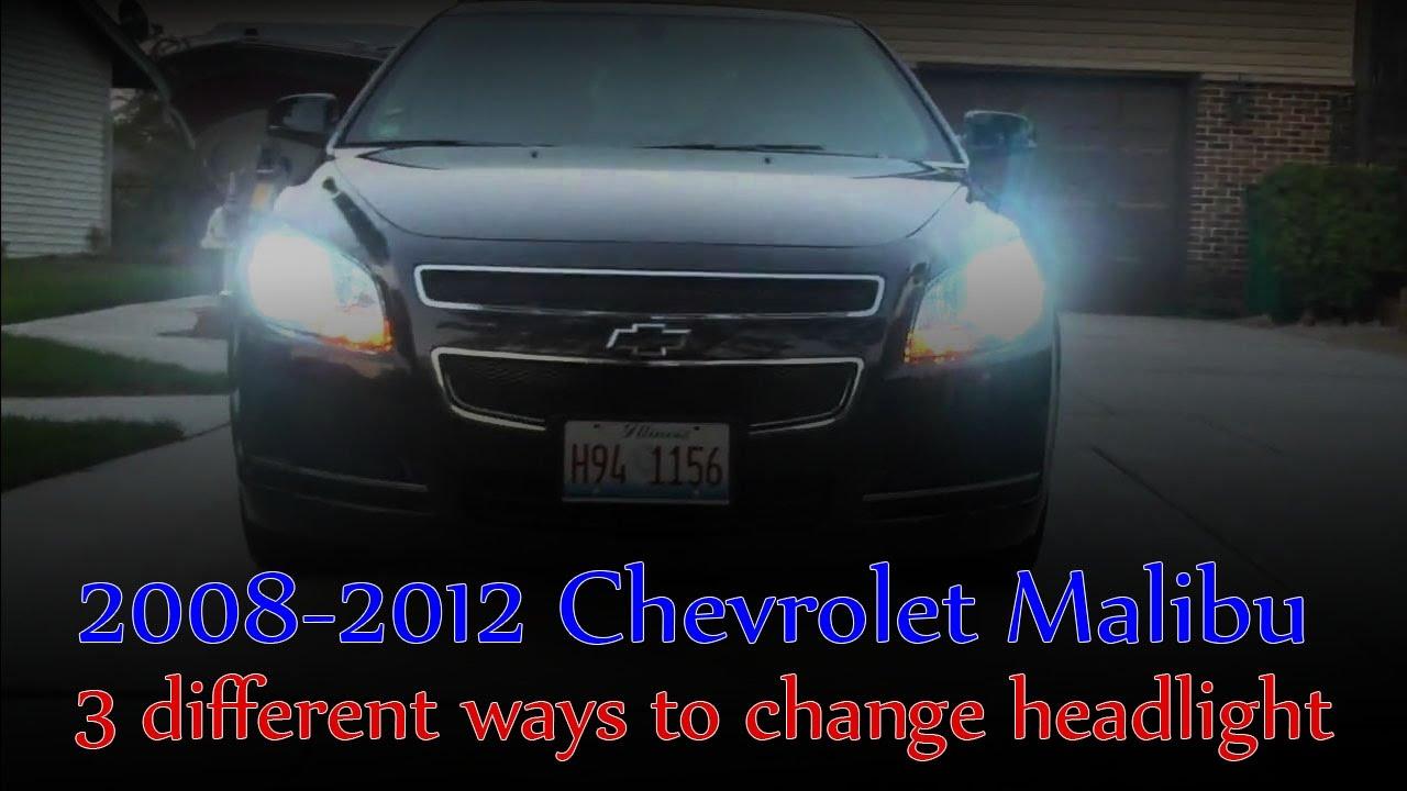Malibu 2008 chevy malibu headlight bulb replacement : 2011 Chevy Malibu: Ep 2 - 3 ways to change a headlight bulb - YouTube